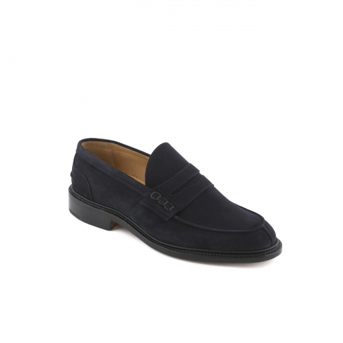 Mocassino Tricker's James blue