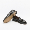 Mocassino Alden in Shell Cordovan Burgundy 8