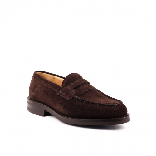 Mocassino Church's Darwin in camoscio castoro brown