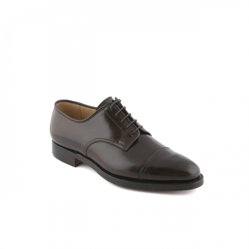Scarpa stringata Crockett & Jones Bradford in cordovan testa di moro