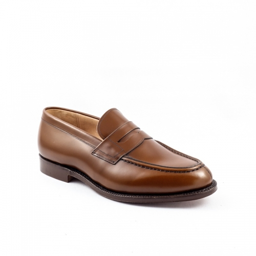 Mocassino Church's Darwin in pelle spazzolata sandalwood