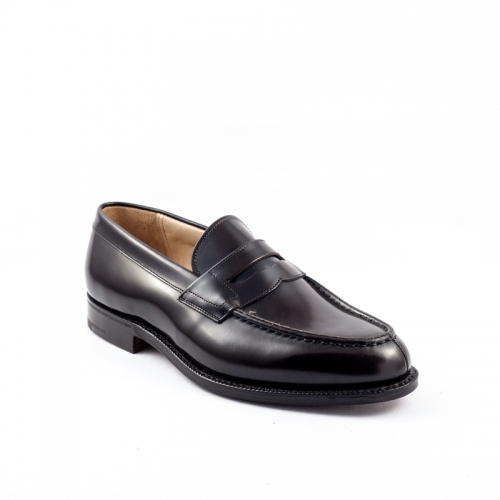 Mocassino Church's Darwin in pelle spazzolata light ebony