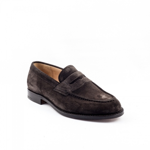 Mocassino Church's Darwin in camoscio dark brown