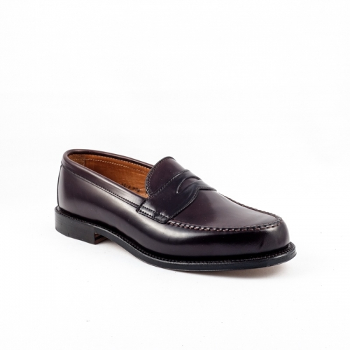 Mocassino Alden in cordovan burgundy
