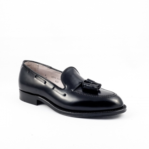 Mocassino Alden 664 in Shell Cordovan nero