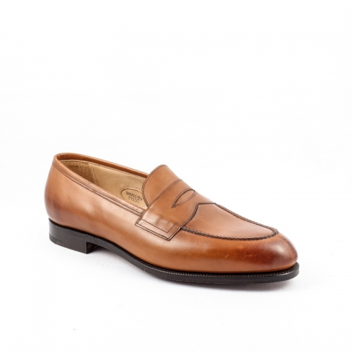 Mocassino Edward Green Sloane in pelle chestnut