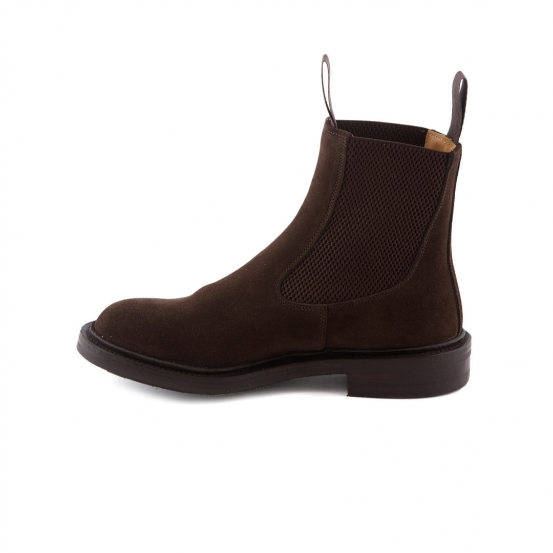 ankle boot tricker s paula coffee suede