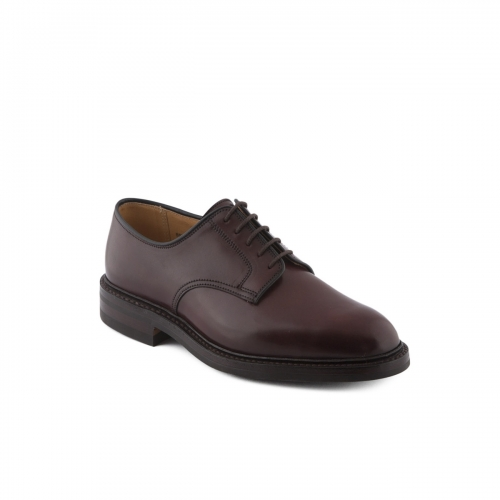 Scarpa stringata Crockett & Jones Grasmere in cordovan burgundy