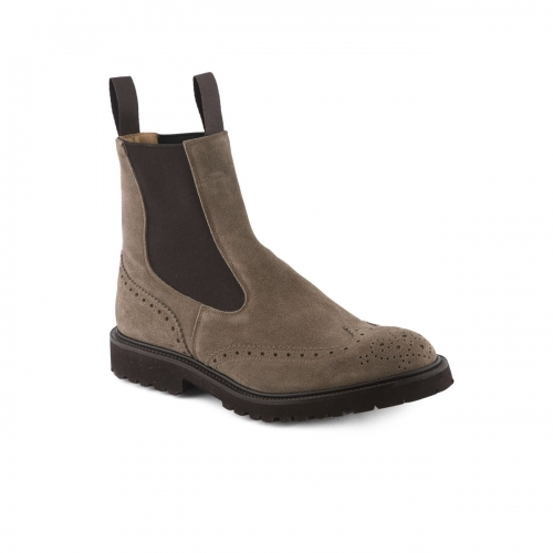 Polacco Tricker's Henry VBS in camoscio visone