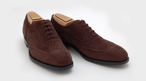 Fairfield, the Church's suede interpretation