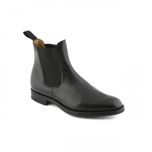 Boot Edward Green Newmarket in black leather