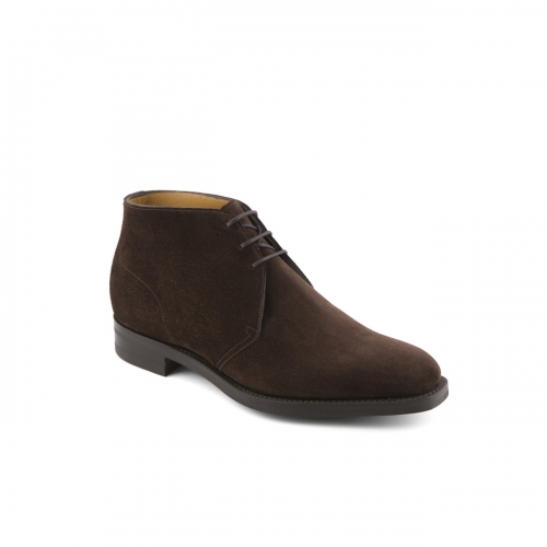 Boot Edward Green Warwick in mocca suede