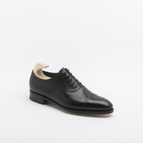 Scarpa stringata John Lobb Philip fit E in pelle nera