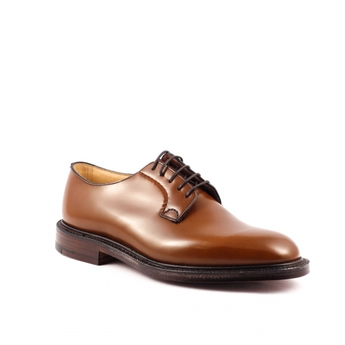 Church's Shannon sandalwood calf derby laced up shoe
