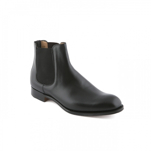 Cheaney Godfrey black calf ankle boot