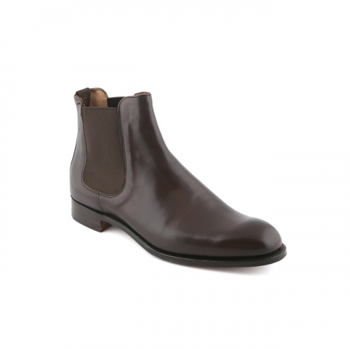 Cheaney Godfrey mocha burnished calf ankle boot