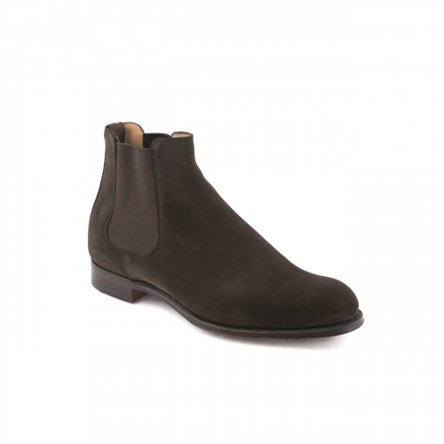 Cheaney Godfrey dark brown pony suede ankle boot