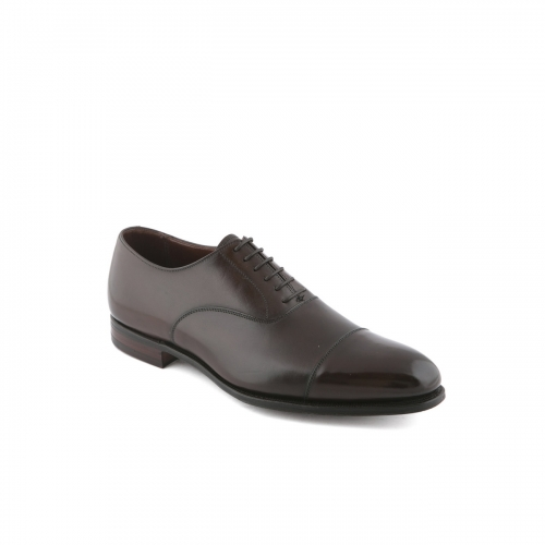 Scarpa stringata Crockett & Jones Lonsdale in pelle testa di moro