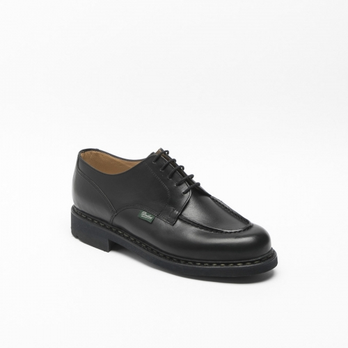 Paraboot Chambord lace-up shoe in black leather