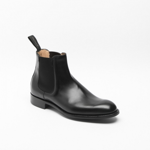 Cheaney Godfrey R black calf ankle boot