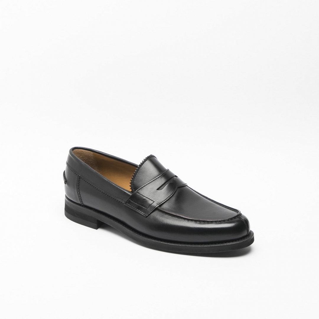 Barrett loafer in black New box leather with mask