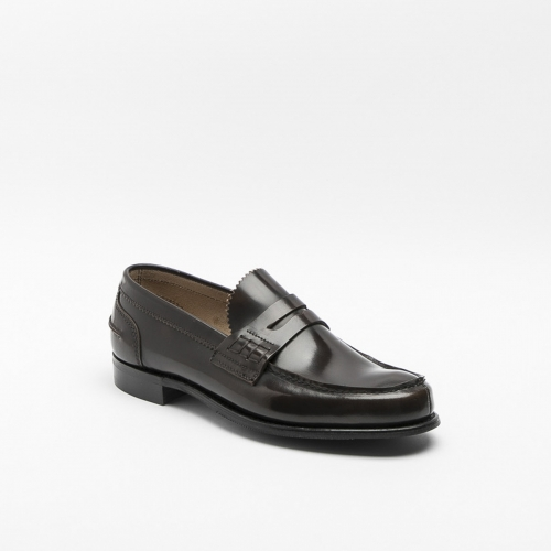Cheaney Dover D loafer in pickled walnut calf