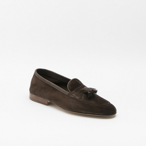 Loafer Edward Green Portland brown suede