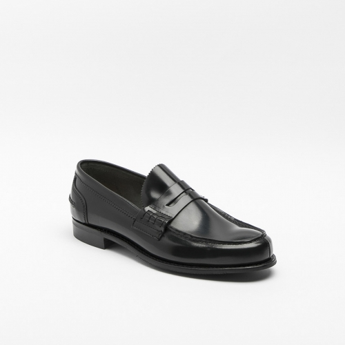 Cheaney Dover D black calf loafer