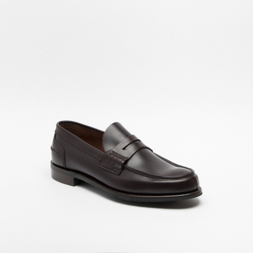 Cheaney Dover D burgundy leather loafer