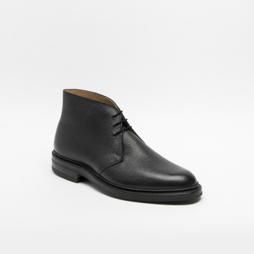 Polacco Crockett & Jones Chepstow in pelle martellata nera