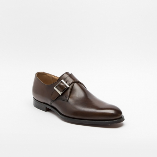 Scarpa Crockett & Jones Swindon in pelle testa di moro