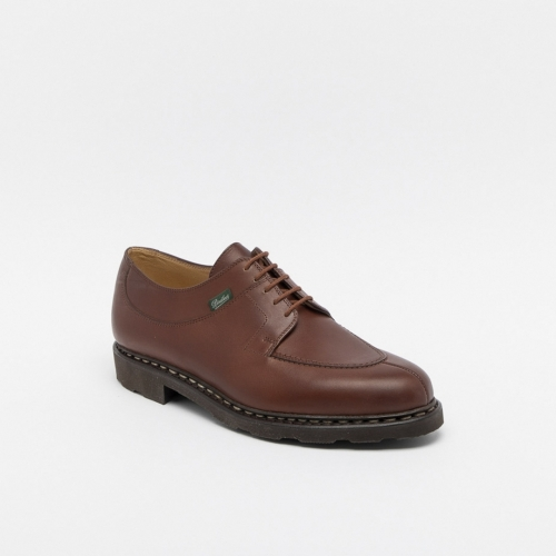 Paraboot Avignon Griff lace-up shoe in brown smooth leather