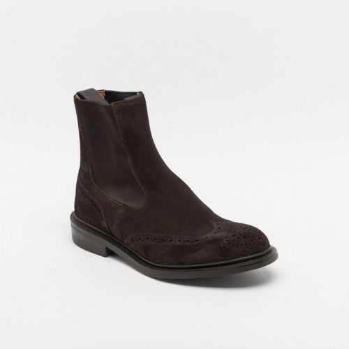 Tricker's Henry coffee full brogue ankle boot