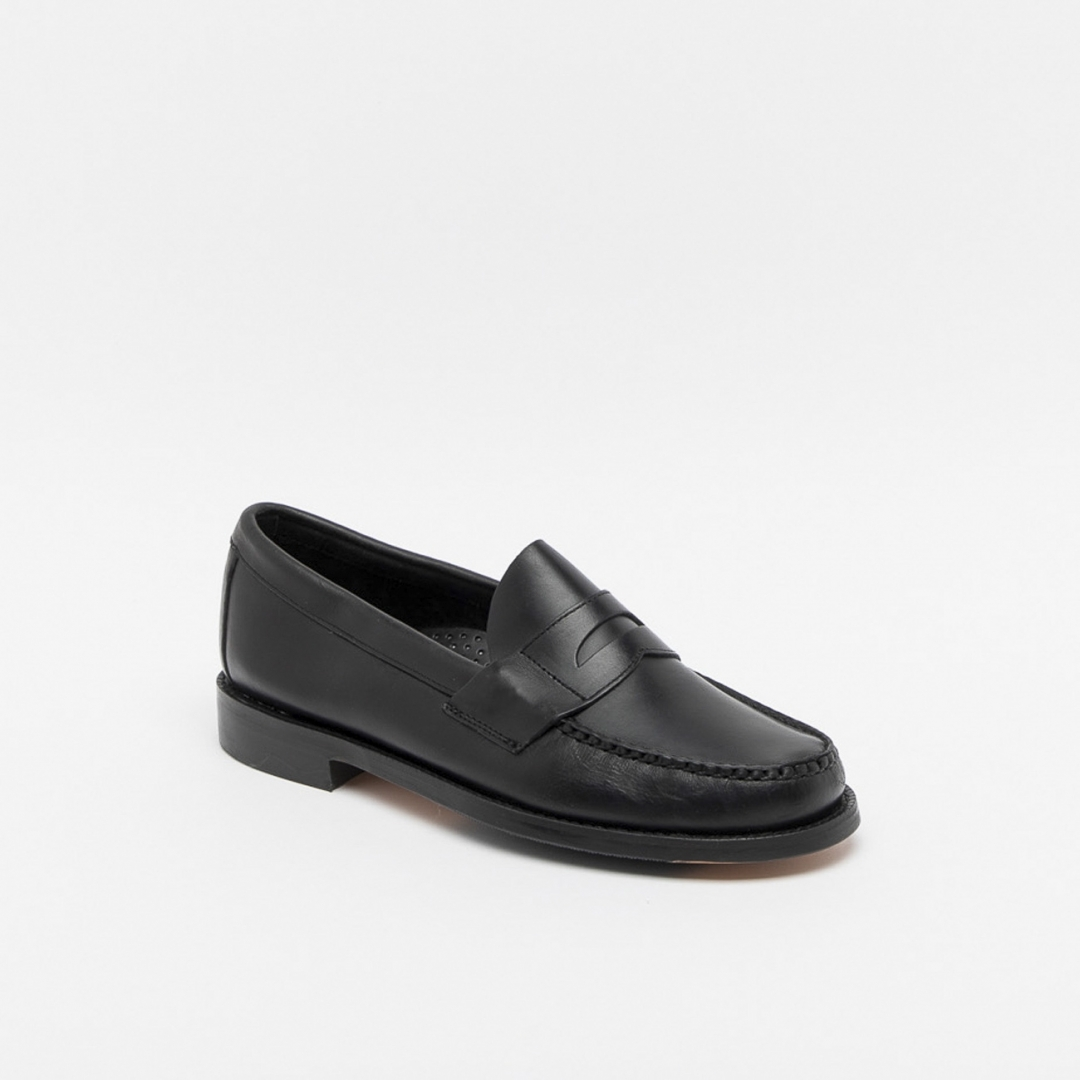 6be6eda8bee43 Sebago Heritage black Penny loafer