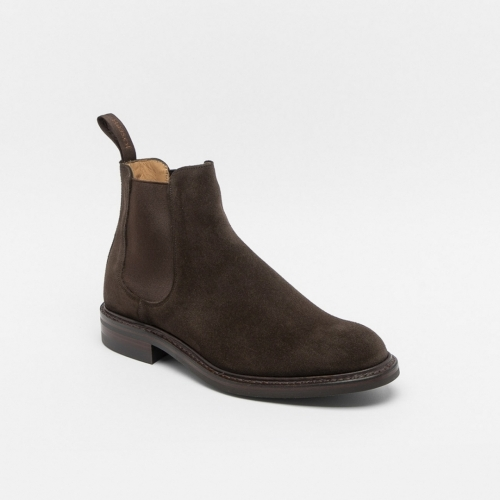 Stivaletto Cheaney Joseph & Sons Godfrey in camoscio marrone