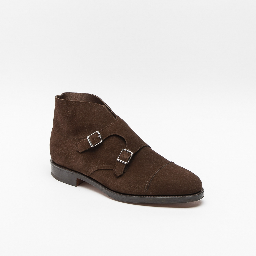 John Lobb William Ii Brown Monk Strap Boot