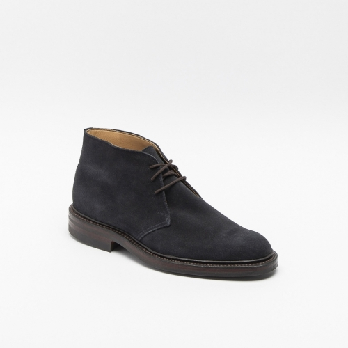Polacco Crockett & Jones Chiltern 2 in camoscio blu