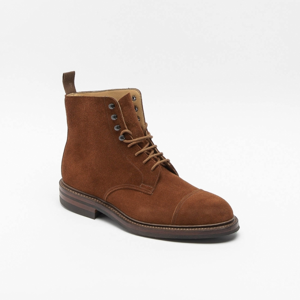 c5e89fa772d Crockett & Jones Coniston 3 brown suede lace up ankle boot