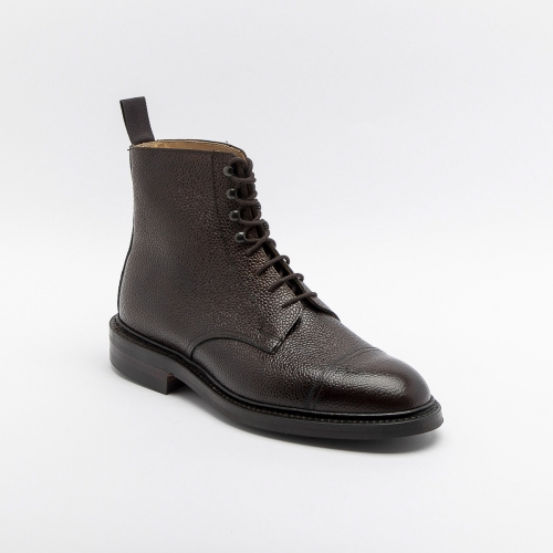 Polacco stringato Crockett & Jones Coniston 3 in pelle testa di moro