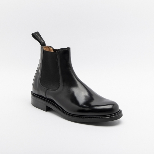 Stivaletto Cheaney Severn in pelle nera