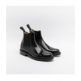 Cheaney Severn black shine ankle boot