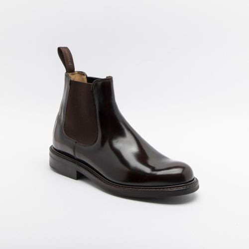Cheaney Severn brown shine ankle boot