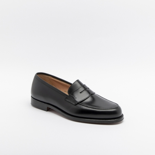 Mocassino Crockett & Jones Grantham II in pelle nera