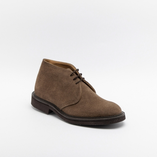 Trciker's Aldo new brown ox reversed suede lace-up ankle boot