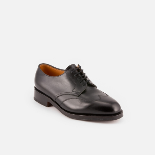 Scarpa stringata John Lobb Dallas in pelle nera