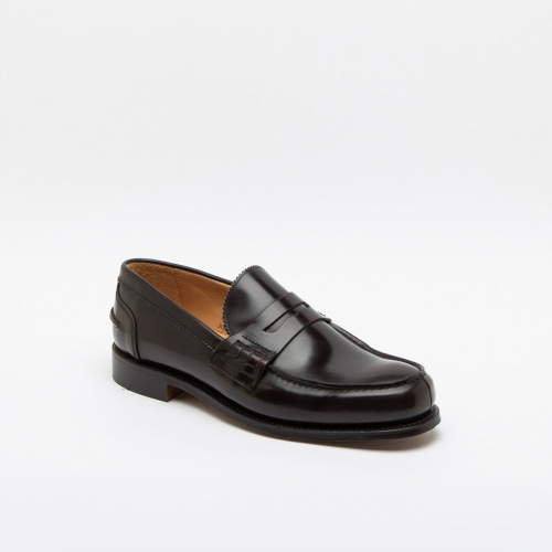 Mocassino Cheaney Joseph & Sons Dorking in pelle marrone