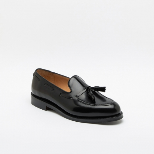 Mocassino Cheaney Joseph & Sons Boston in pelle nera