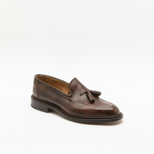 Tricker's Elton brown museum calf loafer