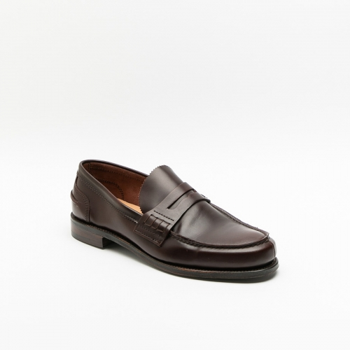 Mocassino Cheaney Joseph & Sons Dover alt in pelle burgundy