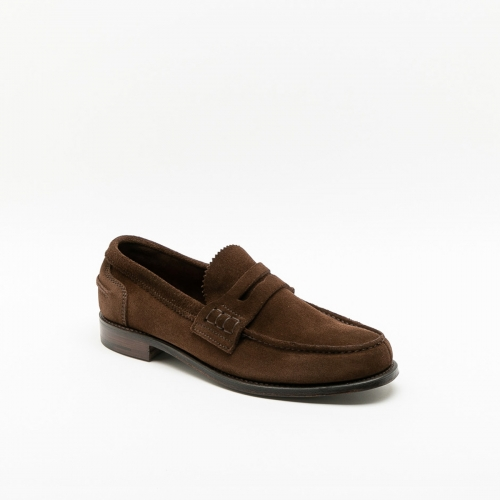 Cheaney Joseph & Sons Dover alt brown suede loafer